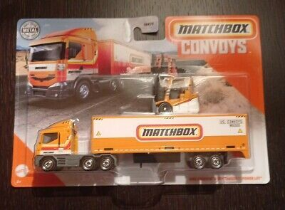 Find Many Great New Used Options And Get The Best Deals For Vhtf New Mib 2021 Matchbox Convoys Box Trailer W Power Hot Wheels Toys Matchbox Matchbox Cars