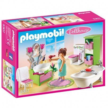 Bano Dollhouse De Playmobil Ideas De Casa De Munecas Tiendas