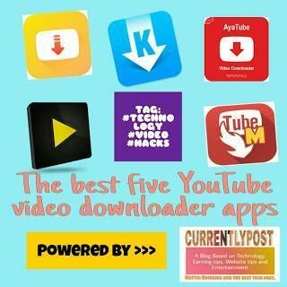 The Best Five Apps To Download Youtube Videos With Images