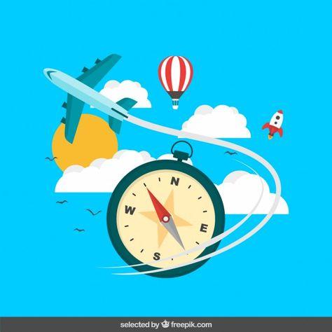 Travel concepts illustration