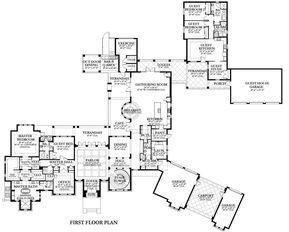 House Plan 3978 00064 Luxury Plan 7 174 Square Feet 8 Bedrooms 6 5 Bathrooms In 2020 Luxury Plan How To Plan House Plans