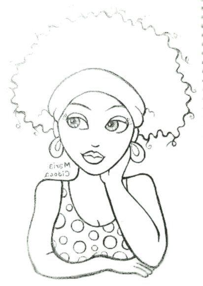 Schwarzes Madchen Maria Cidoca Malvorlagen Afrikanische Gemalde Kunstzeichnungen Stoffmalerei