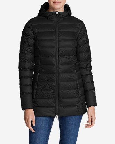 NEW!! Eddie Bauer Women/'s Cirruslite 650 Down Parka Puffer Packable Jacket