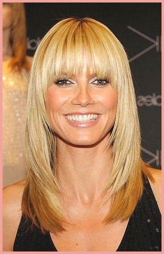 Kurze Frisuren Heidi Klums Frisuren Ahnliches Phanomen Wie Bei Jennifer Anistons Friends Celebr Heidi Klum Hair Long Hair Styles Medium Hair Styles