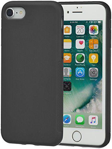 AmazonBasics iPhone 8 / 7 Textured Case, Black AmazonBasics ...