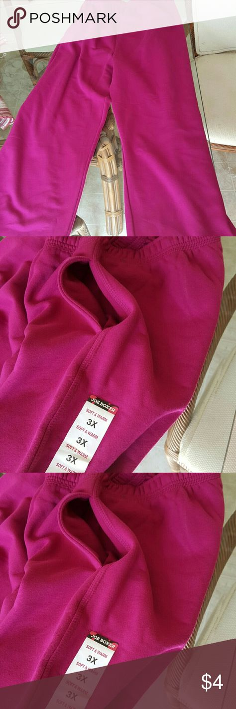 Joe Boxer new with tags 3x sweatpants Soft and comfy joe boxer Pants Jumpsuits & Rompers
