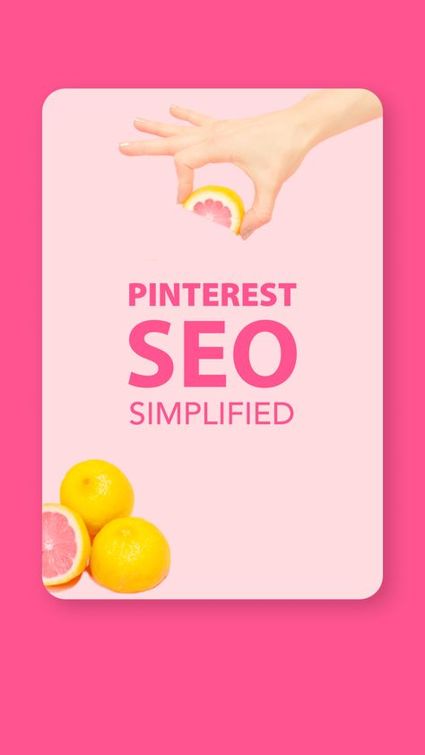Pinterest SEO Simplified