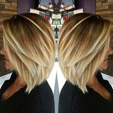 Medium Length Hairstyles For Fine Hair Frisuren Bob Frisur