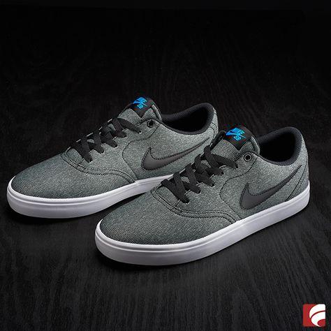 Nike SB Check Canvas Kids Skateboarding Shoes
