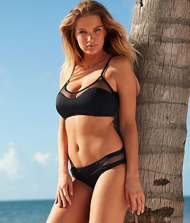 f2cfd2ec9c1b5 Pour Moi Glamazon Scoop Neck Swim Top Swimwear 30000 Set at  BareNecessities.com
