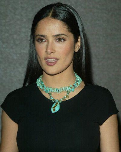 the turquoise! Salma Hayek - actriz mexicana (Veracruzana!)