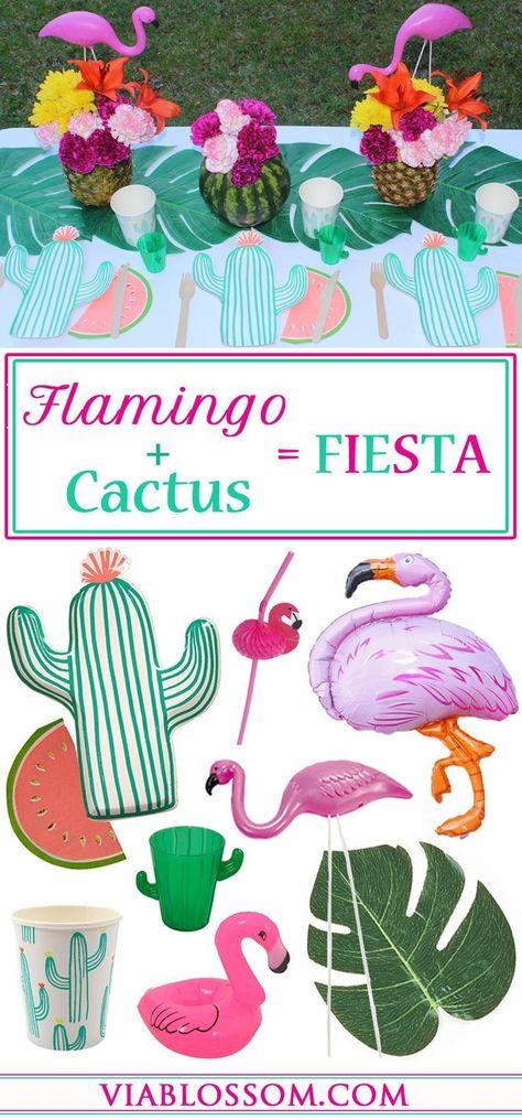 Viva La Fiesta Bunting TACO PARTY 1.5m x 2 Tropical Mexican