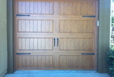 clopay gallery collection ultragrain finish double single garage doors installed by royal garage door pinterest single garage door