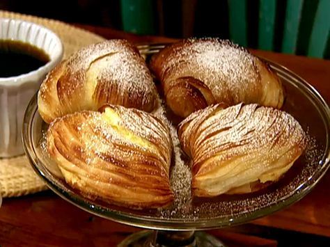Sfogliatella Recipe : Alex Guarnaschelli : Food Network - FoodNetwork.com - Alex makes it look so easy to make. I'll let you know if I try this recipe.