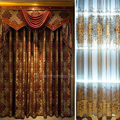 victorian bedroom curtains | design ideas 2017-2018 | Pinterest ...