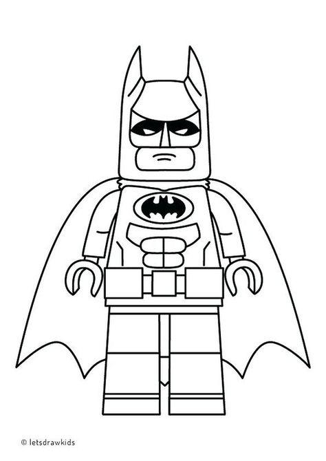 Lego City Kids Desenho Do Batmam E Robin Para Colorir