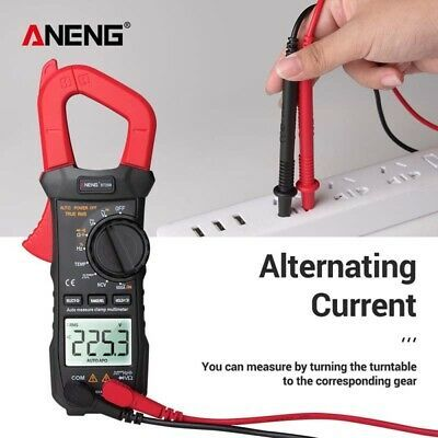 Details About Aneng 1 Set Mini Size Mini Digital Clamp Meters A D Conversion Overrange Display In 2020 Multimeter Ebay Rms