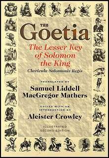 Goetia Lesser Key Of Solomon Occult Books Aleister Crowley Books
