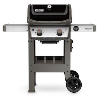 Weber Spirit Ii E 210 Black 2 Burner Liquid Propane Gas Grill Lowes Com In 2020 Small Gas Grill Best Gas Grills Gas Grill