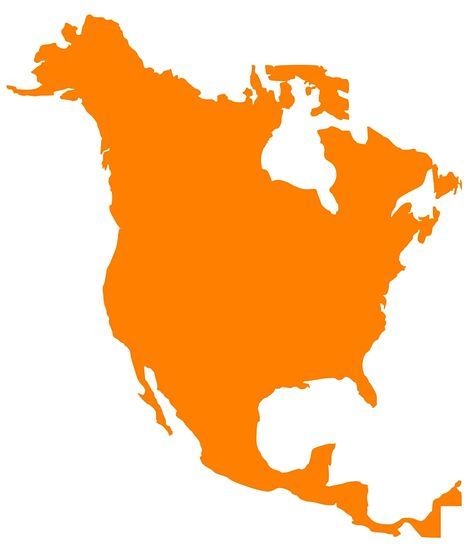 Kostenloses Bild Auf Pixabay Karte Nordamerika Kontinent