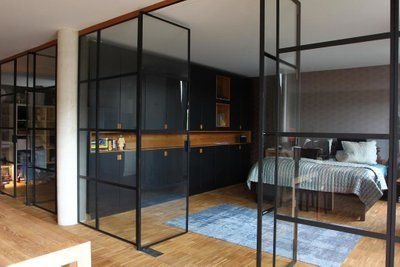 Steel And Glass Partition Wall Glass Partition Wall Glass