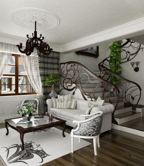 Polsterhocker im Barock-Stil Barock-Stil Pinterest Barock - barock mobel prachtvoll