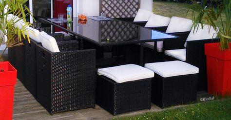 Grande Table De Jardin Plateau Verre Avis Salon De Jardin Resine