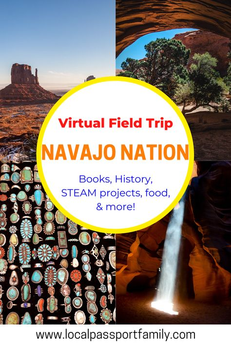 Virtual Travel, Virtual Tour, Google Classroom, Virtual Field Trips, Navajo Nation, Library Lessons, Educational Websites, Home Learning, Home Schooling