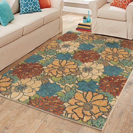 Better Homes And Gardens Blossoming Bouquet Area Rug Or Runner