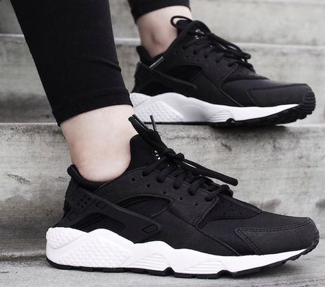 5077b90d6 Nike Air Huarache OG Triple Black White Women Girls 634835 006 Foot Locker  | Clothing, Shoes & Accessories, Women's Shoes, Athletic | eBay!
