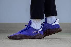 adidas schuh 2019 gestreift lila gelb