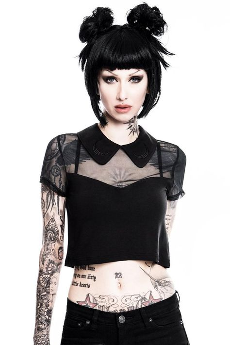 Shop all the latest blouses, crop tops, tanks tops and more. Alternative style tops for the glamours goth @ KILLSTAR