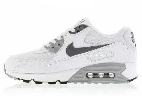 good exquisite style preview of Nike Air Max 90 Ultra Essential Femme Homme Blanc Gris Pas Cher en ...