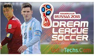 Download Latest Dream League Soccer Dls Mod Russia 2018 Fifa World Cup Apk Obb Data Soccer Fifa World Cup League