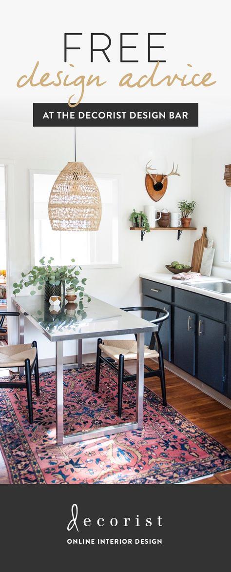 get expert interior design advice from our designers for free home rh pinterest com