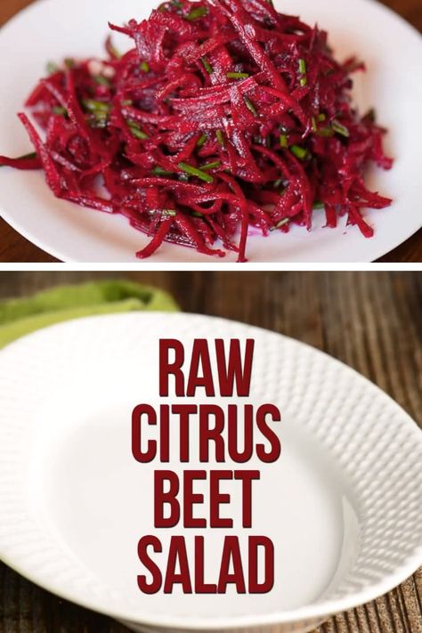RAW CITRUS BEET SALAD RECIPE
