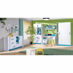 Kinderzimmer Drehturenschrank Kleiderschrank Frank 03 Farbe