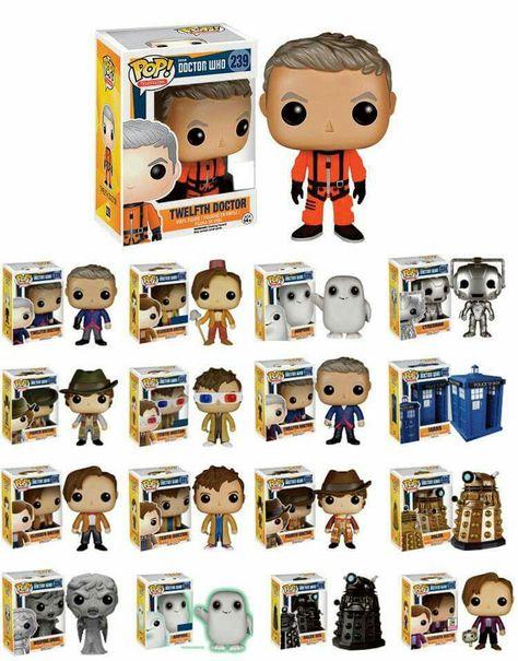 Doctor Who pop vinyls