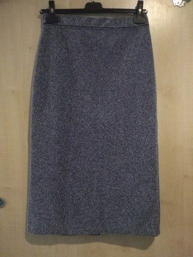 Szara Spodnica Rozmiar 38 7529029937 Oficjalne Archiwum Allegro Fashion Skirts