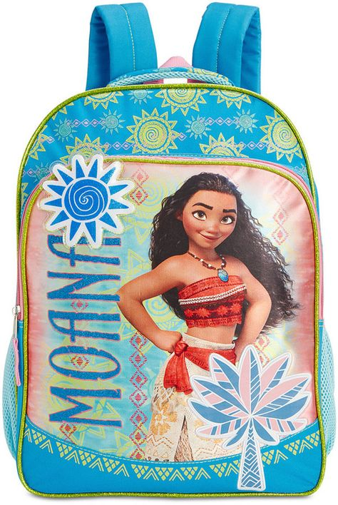 1d6edf87032 Moana Backpack. Perfect for school or next Disneyland trip!  aff ...