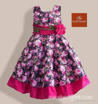 0a74af265381 Easy To Stitched Simple   Elegant Baby Girls Frocks 2017