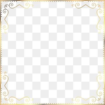 Square Border Mini Style Border Golden Border Rectangular Square Border Png And Vector Mini Fashion Graphic Design Background Templates How To Draw Hands