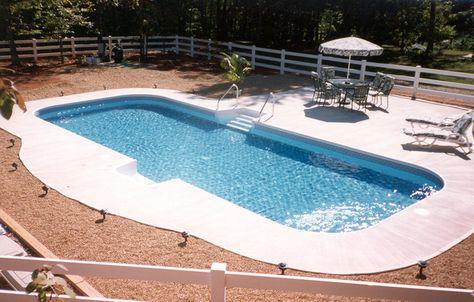 Inground Swimming Pool Rectangle 4ft