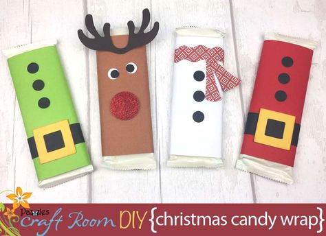 Christmas Candy Bar Wrappers - Pazzles Craft RoomYou can find Candy bar wrappers and more on our website. Candy Bar Crafts, Christmas Candy Crafts, Holiday Candy, Homemade Christmas Gifts, Holiday Crafts, Christmas Crafts, Candy Bar Covers, Christmas Wrapper, Christmas Presents For Teachers