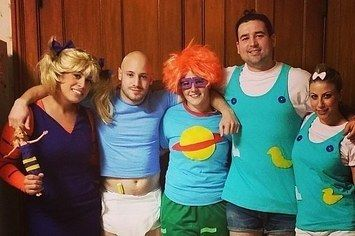 The gang from Rugrats: 34 Brilliant Group Halloween Costume Ideas You'll Actually Like
