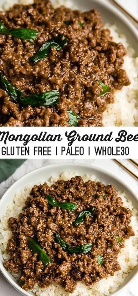 This Mongolian Ground Beef Is A Flavorful And Cost Effective Alternative To The Classic Its A Healthier Soy Free Alternative In 2020 Ground Beef Beef Keto Recipes Easy