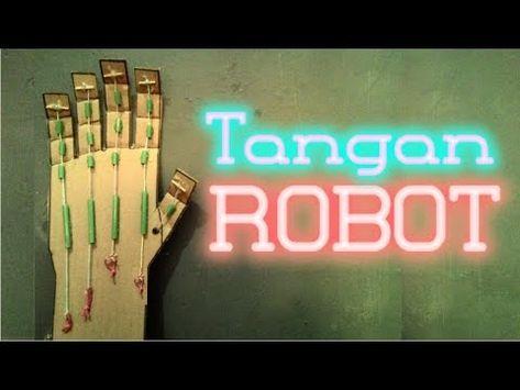 Cara Membuat Tangan Robot Dari Kardus Bekas Ide Mainan Kreatif