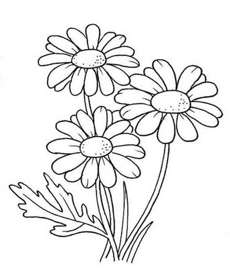 Desenhos De Flores 38 Ideias Para Imprimir E Colorir Paginas