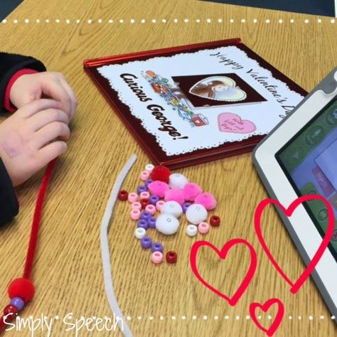 Simply Speech: Valentine's Week in the Speech Room {Giveaway! Ends 2/11/15} Pinned by SOS Inc. Resources. Follow all our boards at pinterest.com/sostherapy/ for therapy resources.