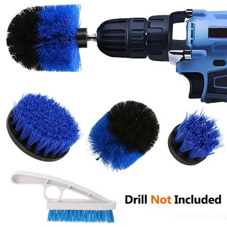 Top 9 Best Scrubbing Drill Brush Sets For Cleaning In 2020 Artesanato